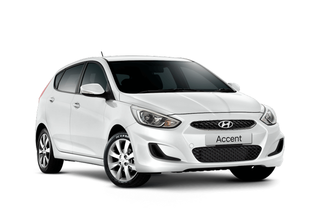 Hyundai Accent Sport White Special Offers