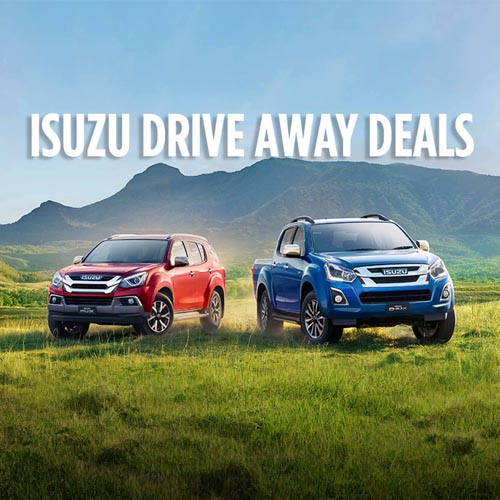 ISUZU DRIVE AWAY DEALS