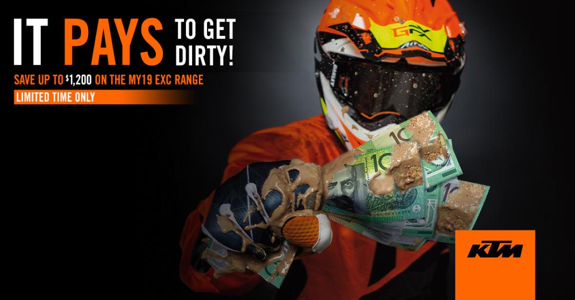 KTM - Get dirty