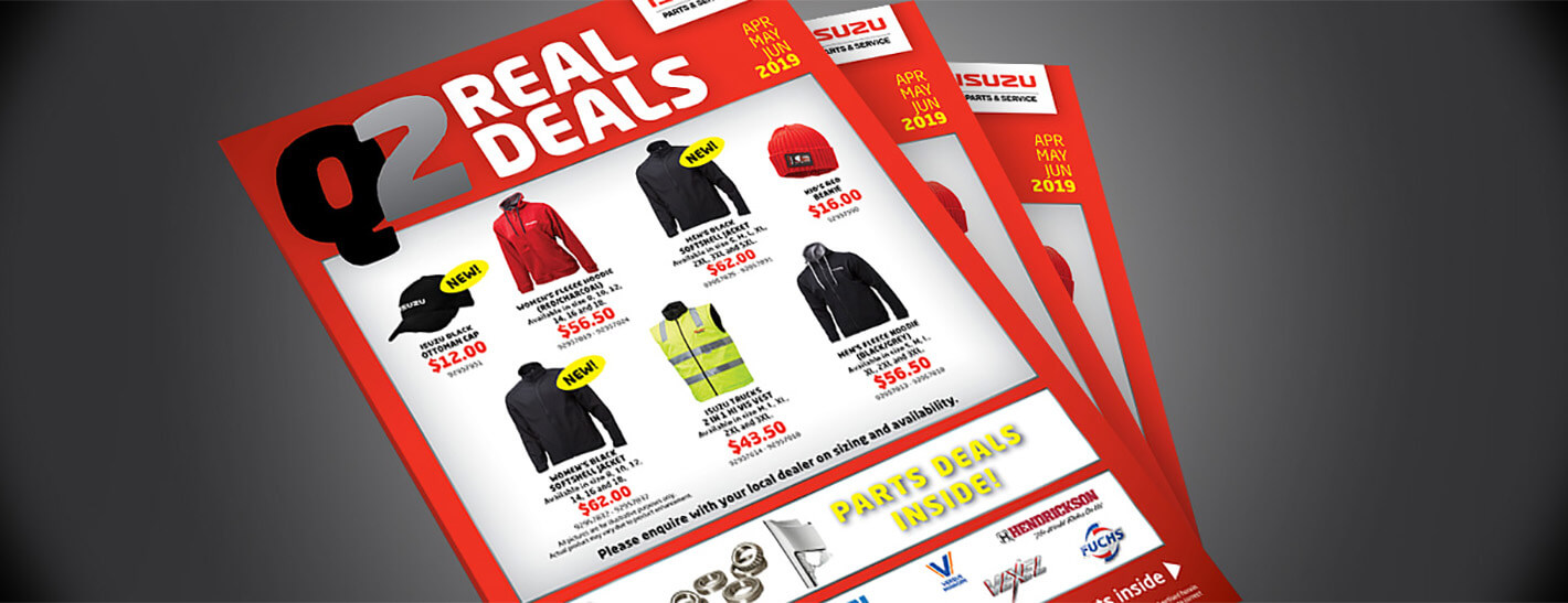 Real Deals Q2 | Isuzu Trucks