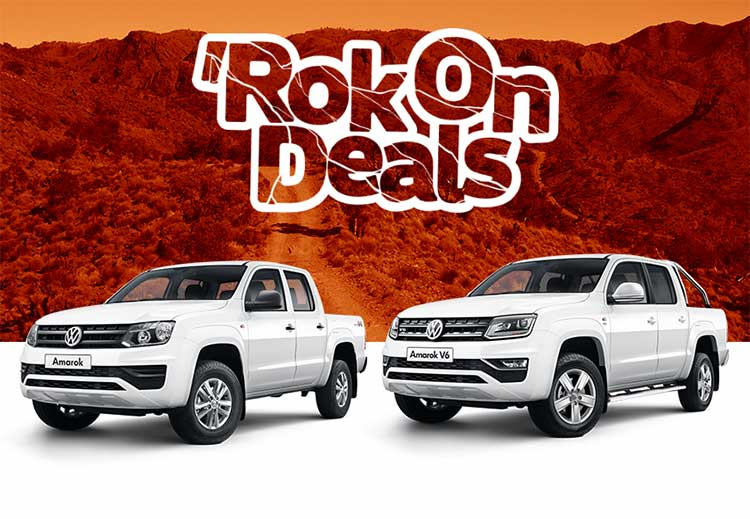RokOn Deals on selected Volkswagen commercial vehicles.