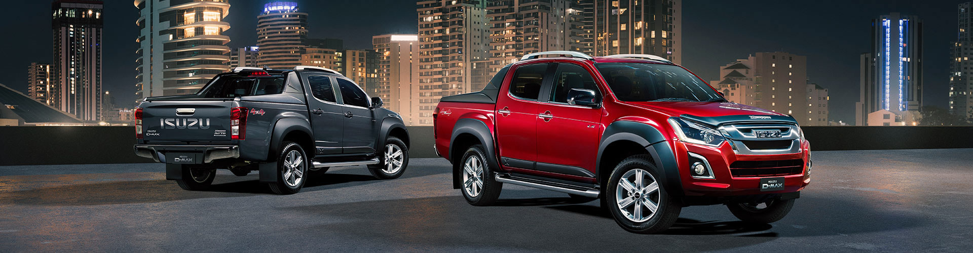 Isuzu UTE D-MAX and MU-X