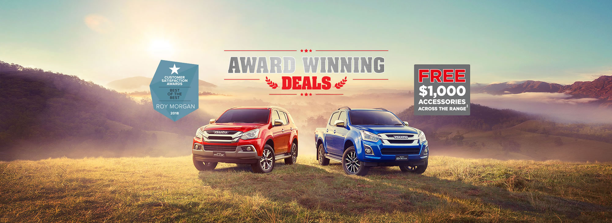 Isuzu UTE Factory Offer
