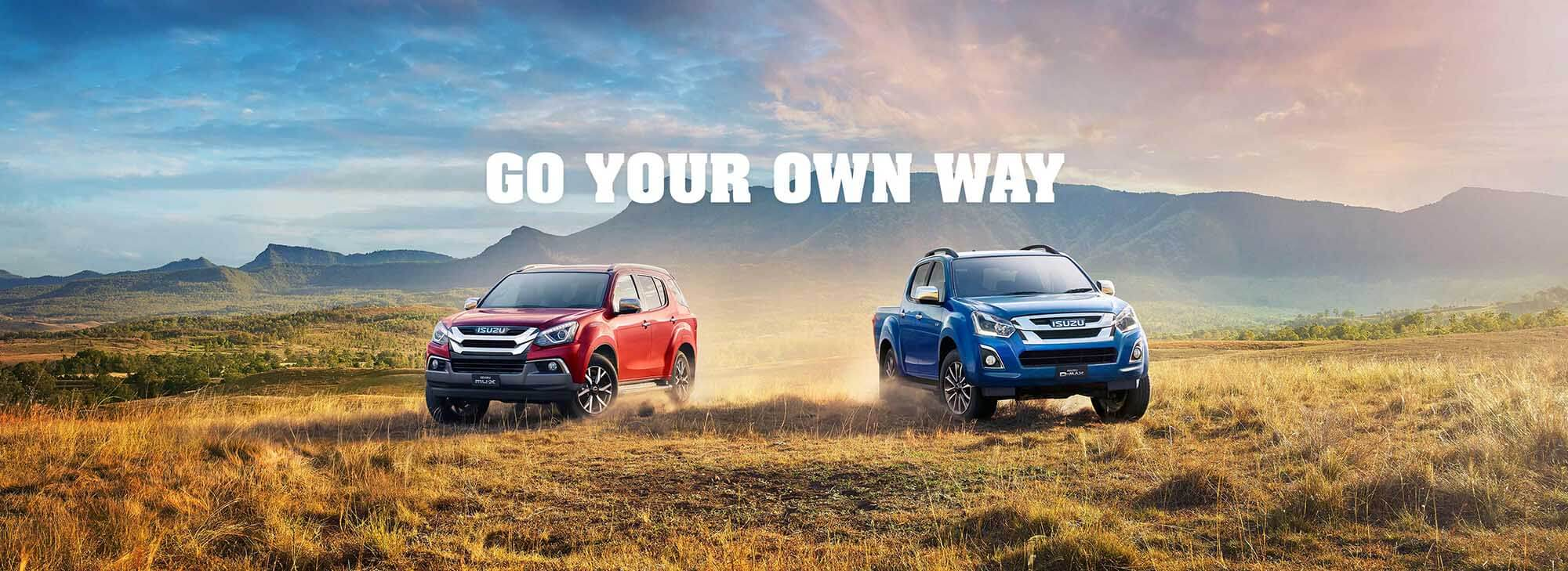 Isuzu UTE - Go Your Own Way