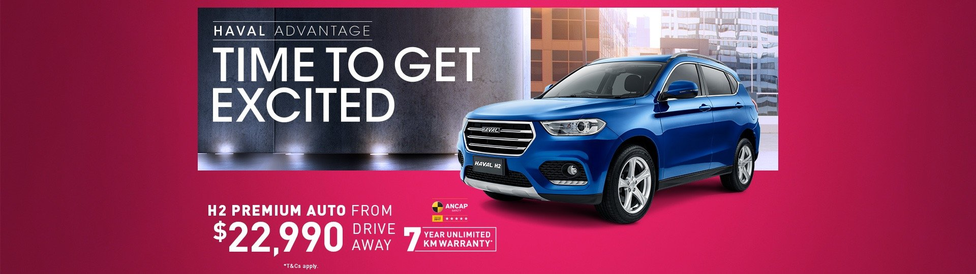 Haval H2 from $22,990 driveaway