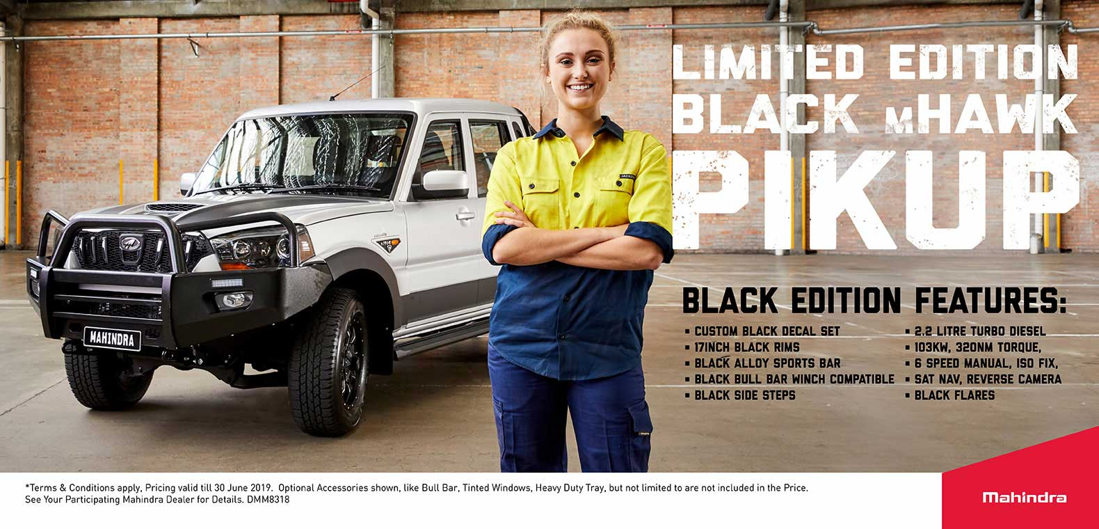 Limited Edition Black mHawk