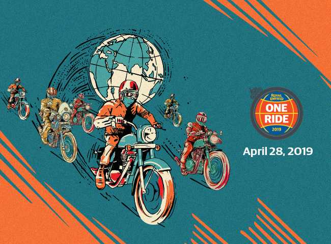 Royal Enfield OneRide 2019