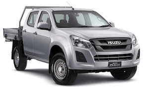 D-MAX: 4x2 SX Crew Cab Chassis