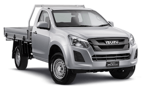 D-MAX: 4x2 SX Single Cab Chassis