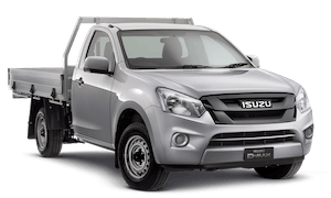 D-MAX: 4x2 SX Single Cab Chassis - Low Ride