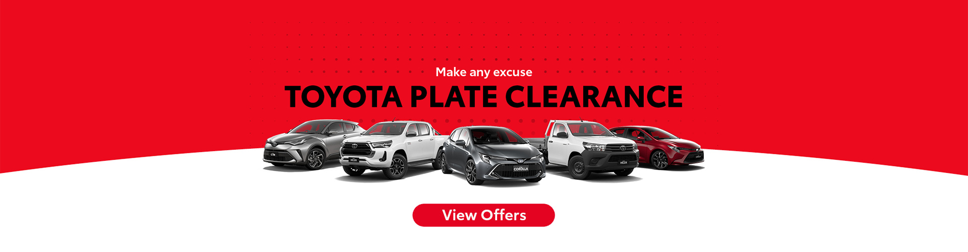 Toyota Plate Clearance