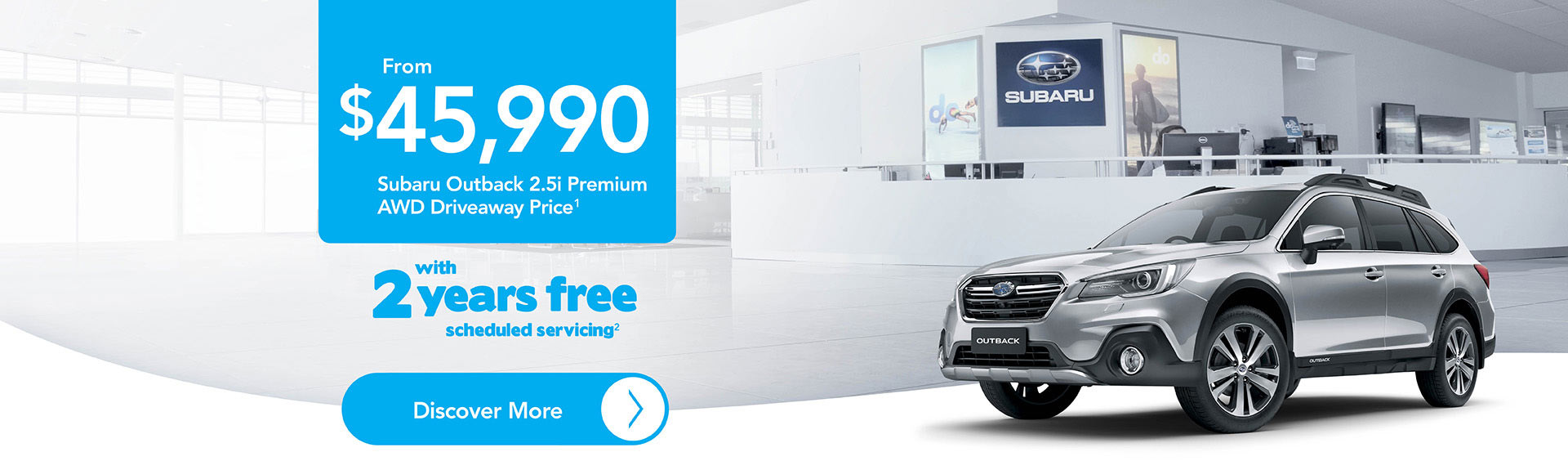 Subaru Outback Premium Latest Offers