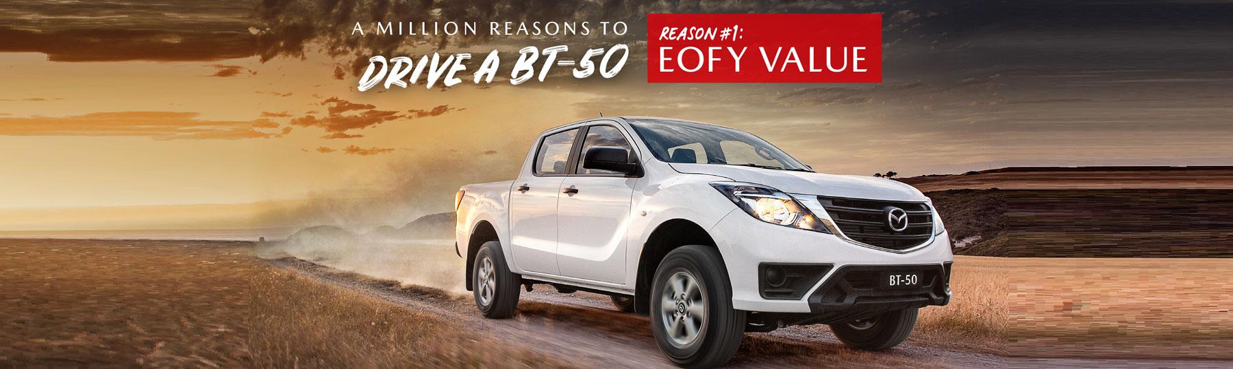 Mazda BT50 Offers