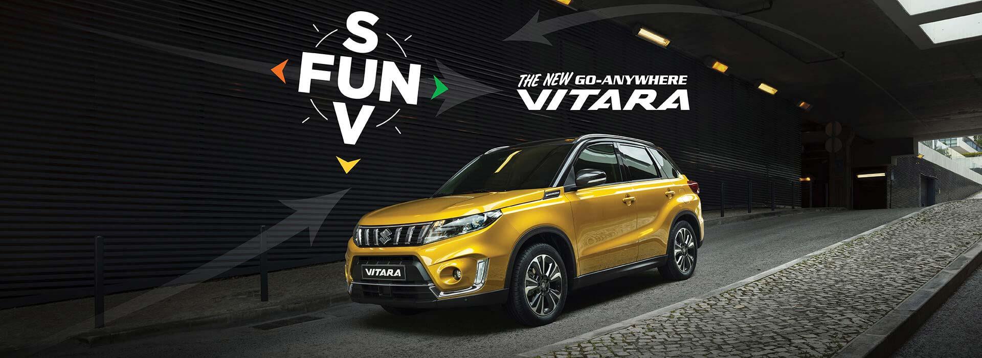 New Go-Anywhere Vitara