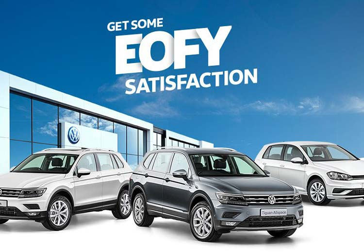 EOFY Deals on selected Volkswagen Passenger vehicles at Lennock Volkswagen, Phillip ACT.