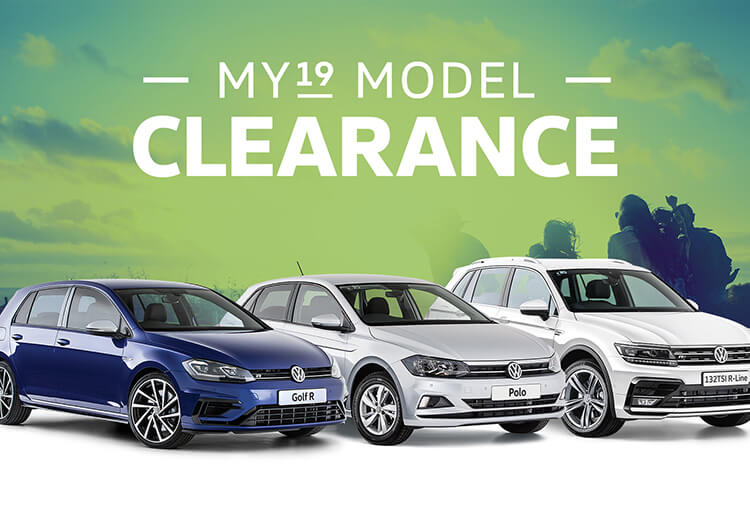 MY19 Model Clearance on selected Volkswagen Passenger vehicles at Gerald Slaven Volkswagen, Belconnen ACT.