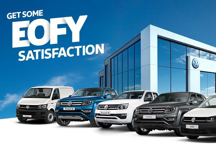 EOFY Deals on selected Volkswagen Commercial Vehicles at Lennock Volkswagen, Phillip ACT.
