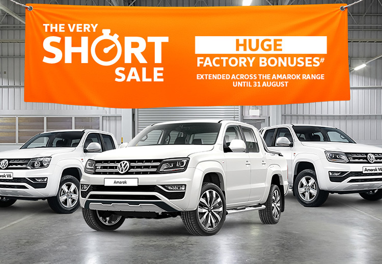 The Very Short Sale is now on selected Volkswagen Commercial Vehicles at John Oxley Volkswagen, Port Macquarie NSW.