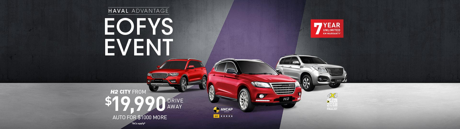 HAVAL EOFYS Event