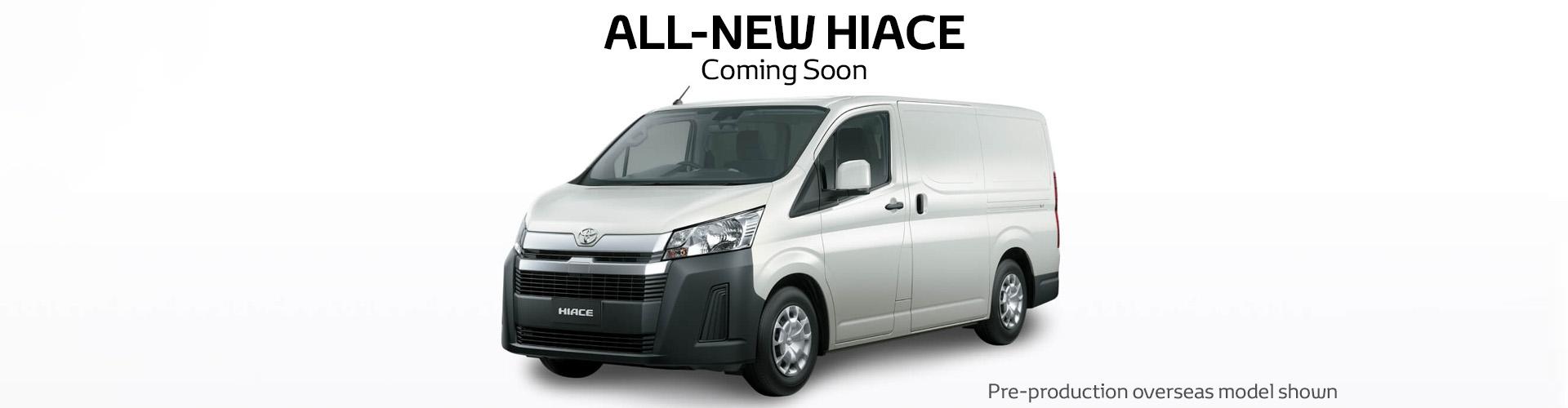 All-New HiAce