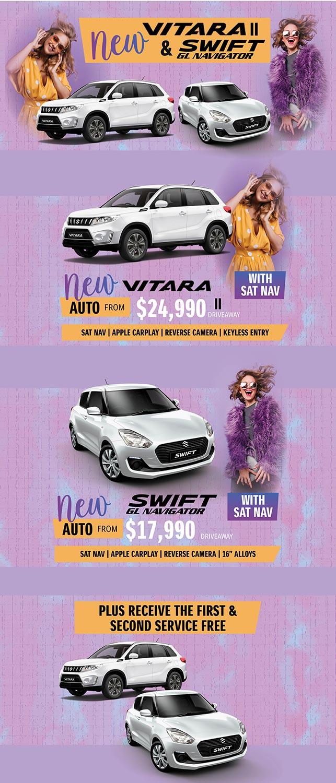 New Vitara II & Swift GL Navigator