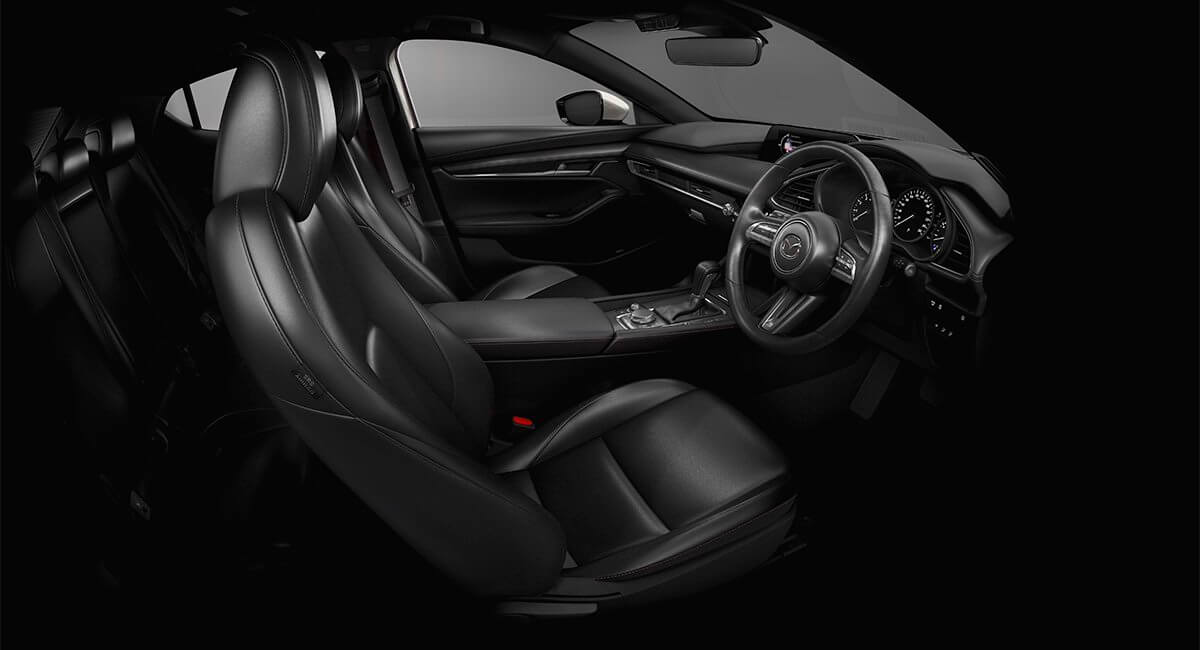 mazda3 blackleather