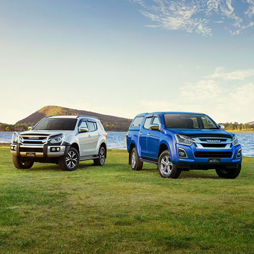 View the latest details on the D-Max Tour Mate and the MU-X Tour Mate at Blue Ribbon Isuzu UTE.