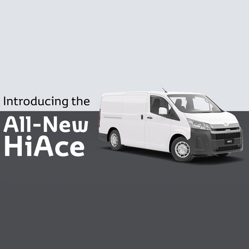 All-New HiAce