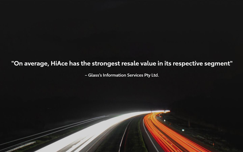 Toyota HiAce Value