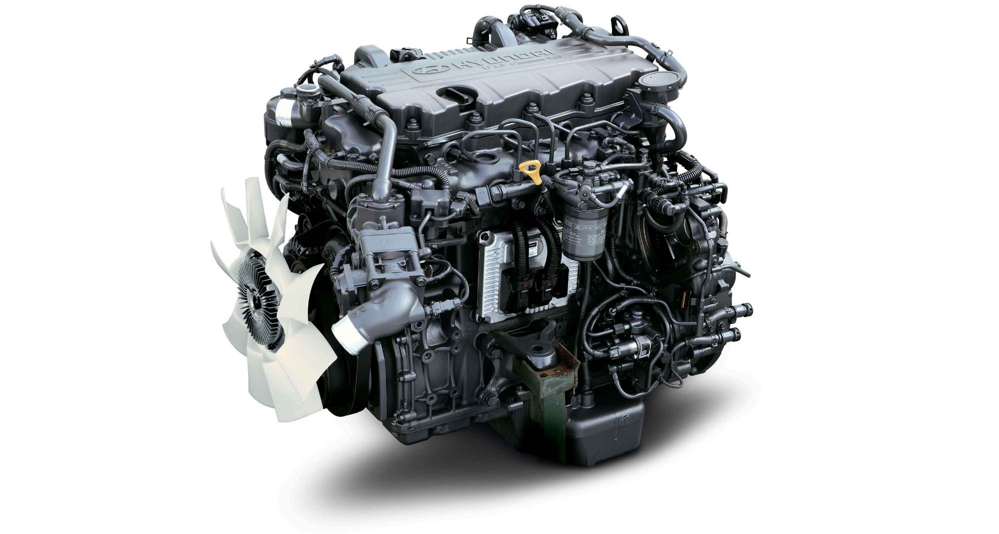 Hyundai Mighty EX4 Engine