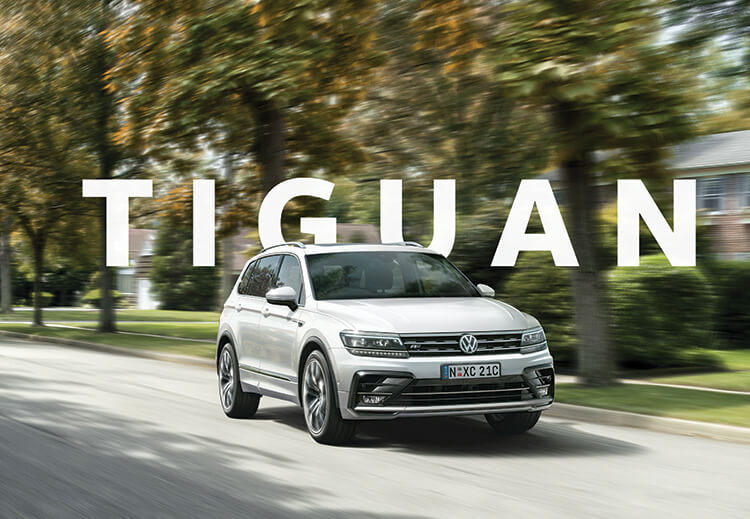 Volkswagen Tiguan - Looks the part. Plays the part