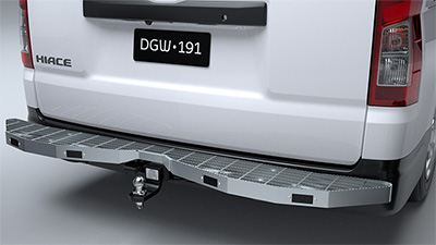 Rear Technician Step with Towbar [G6]