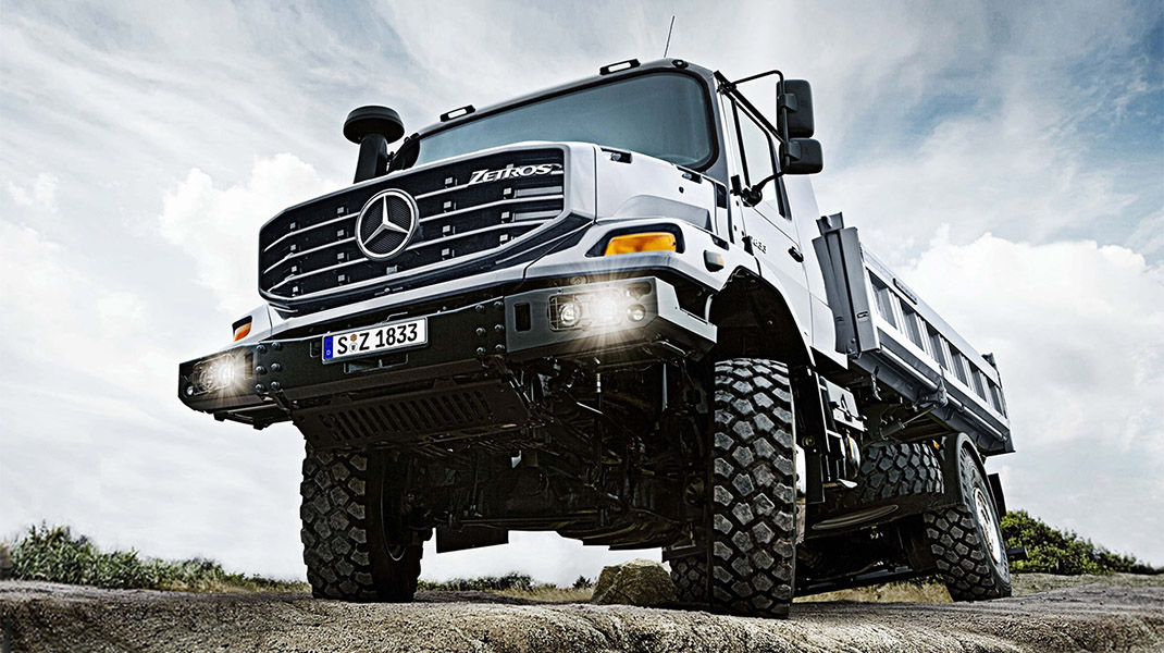Mercedes-Benz Trucks - Zetros
