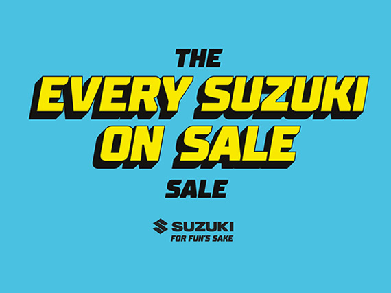 Click here to see the Latest Special Offers available at Brighton Suzuki