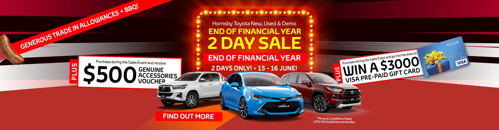 Hornsby Toyota - EOFY Sale