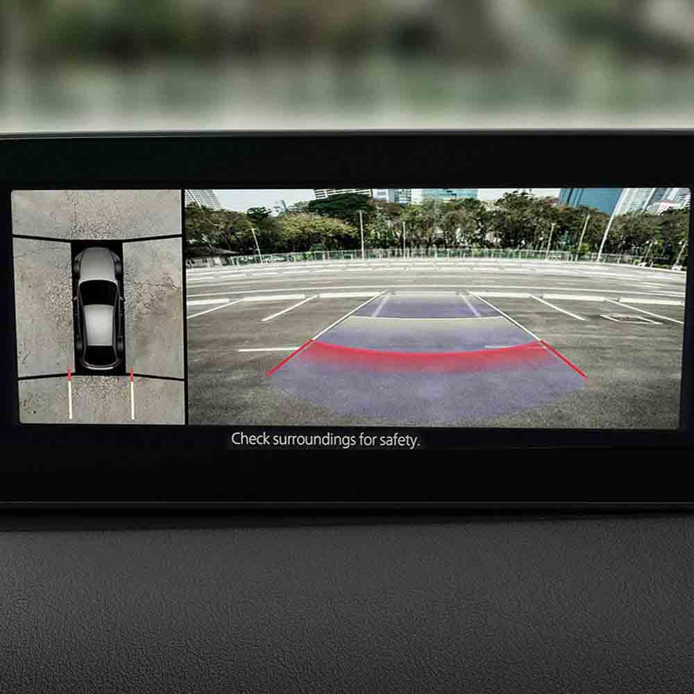 Mazda3 - 360 view monitor
