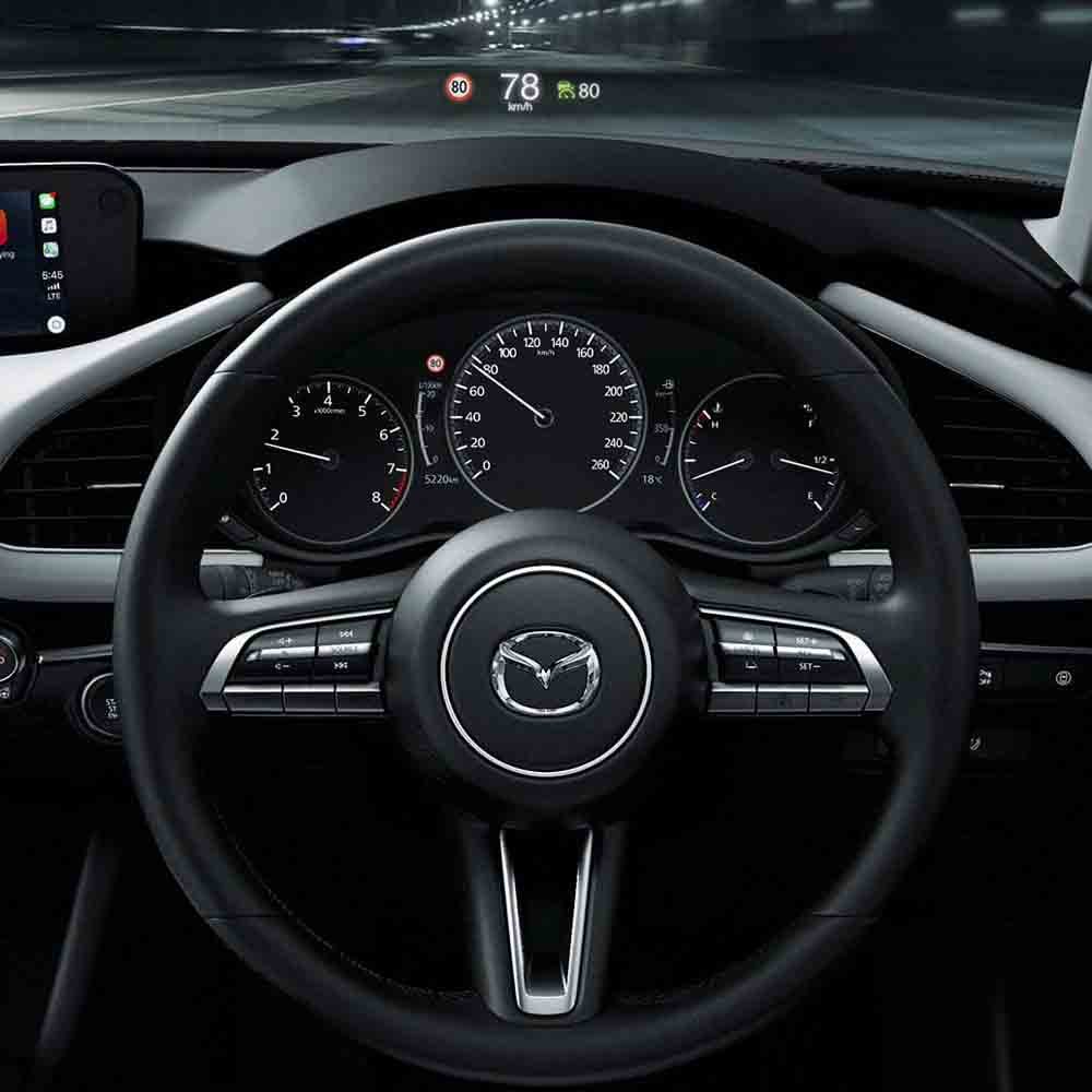 active driving display mazda3