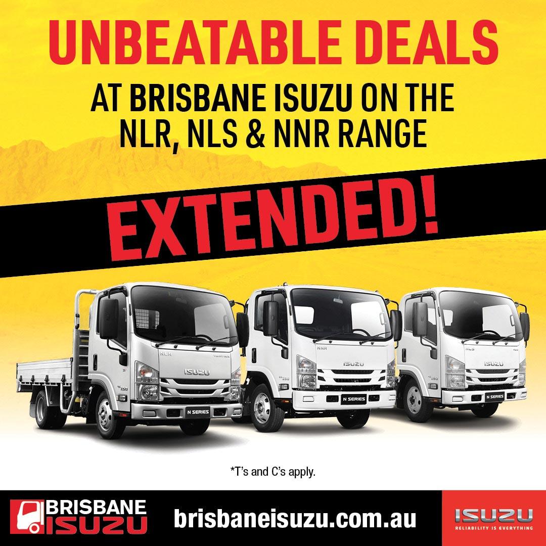 Brisbane Isuzu Unbeatable Deals