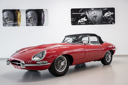 1962 JAGUAR E-TYPE - McCarroll's Clic Collectors on
