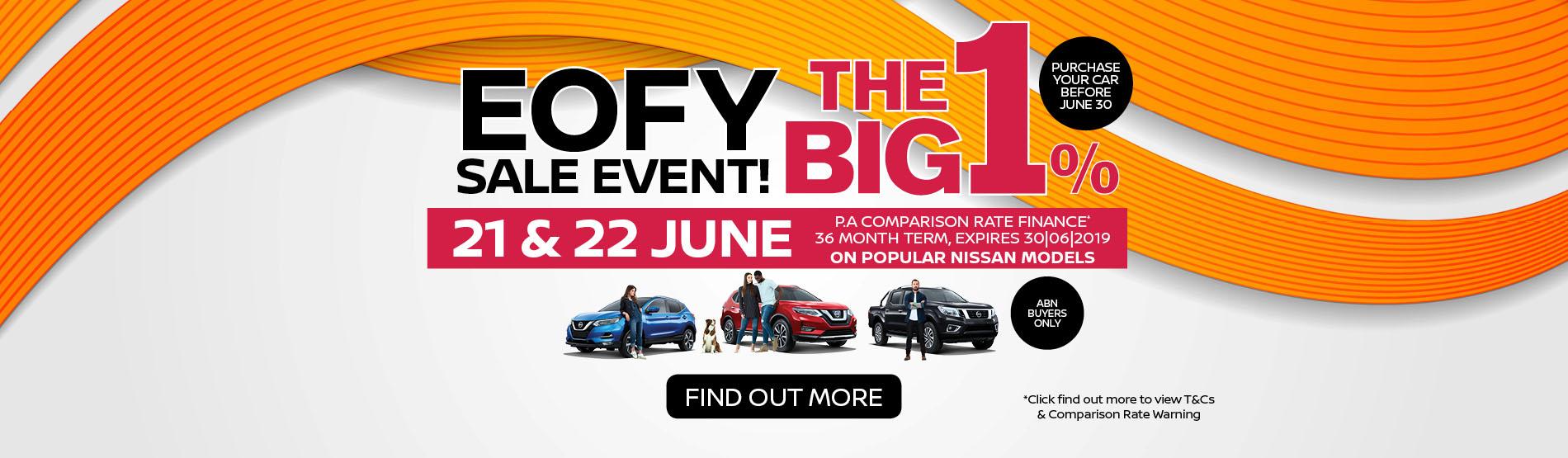 Mantello Nissan - EOFY Sale Event