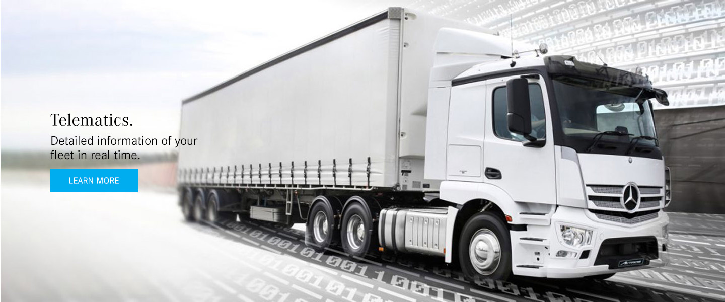Mercedes Benz-Trucks - Telematics