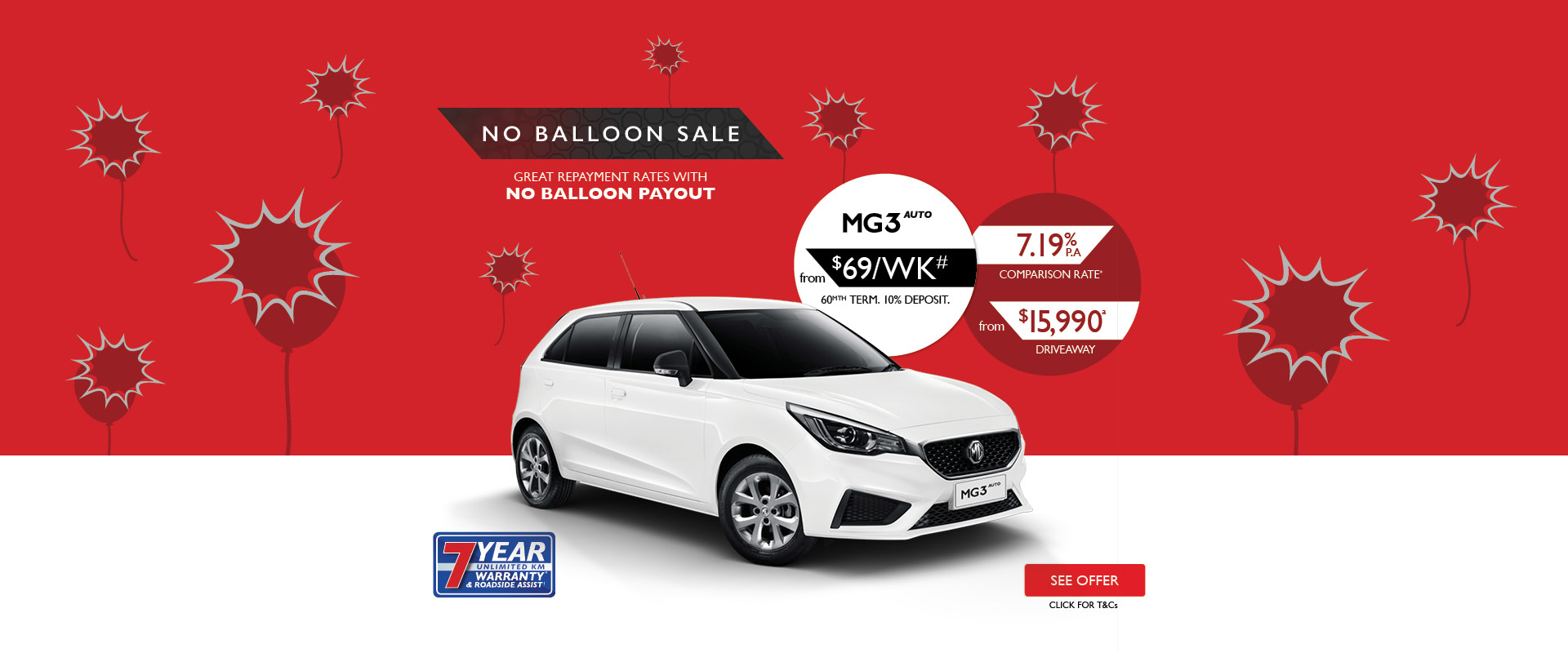 MG - No Balloon Sale - MG3