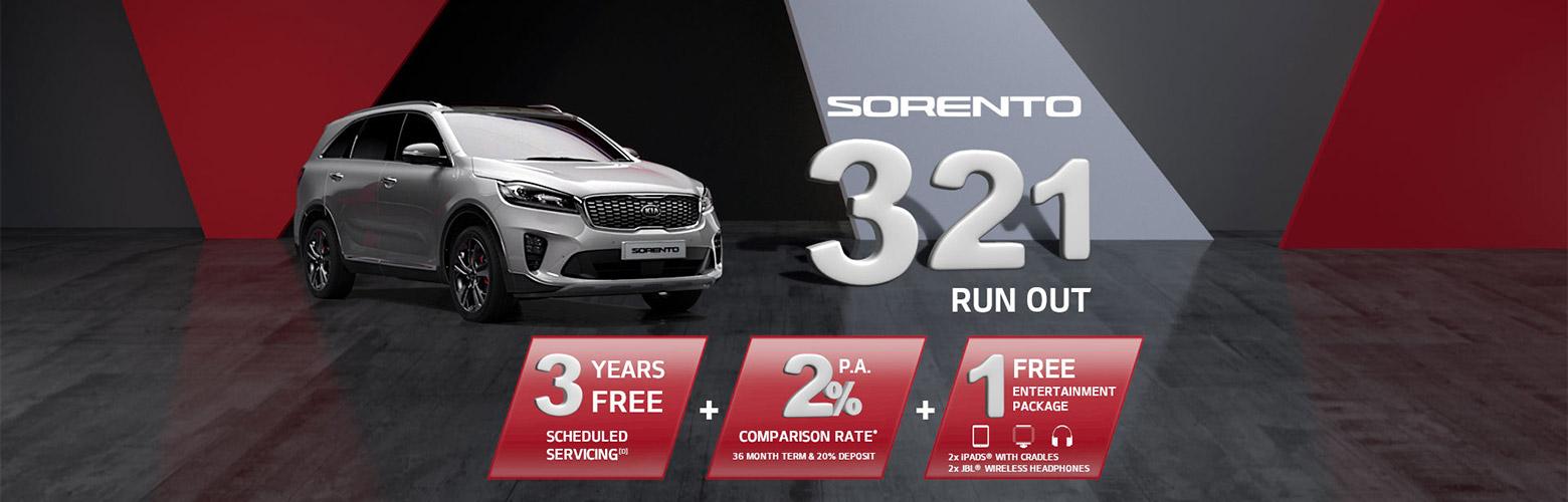 Sorento 321 Run Out
