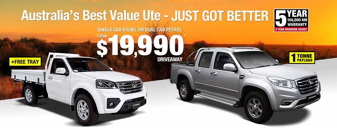 Great Wall - Australia's Best Value Ute