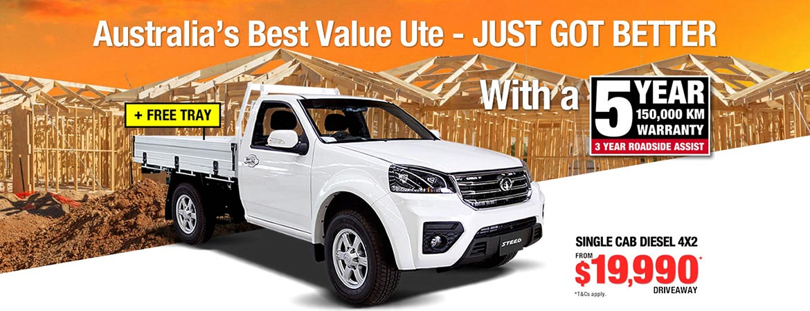 Great Wall - Australia's Best Value Ute
