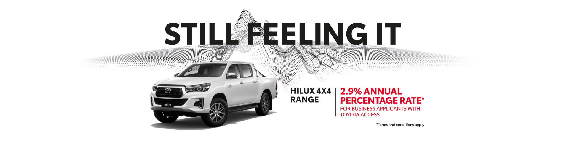 Toyota HiLux 2.9% Annual Percentage