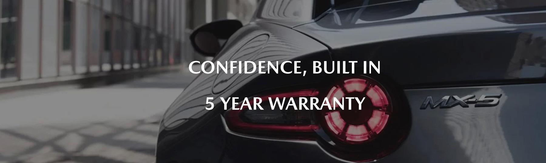 mazda 5 year warranty