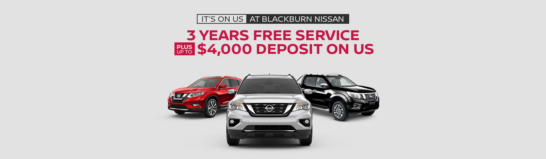 Blackburn Nissan Offer
