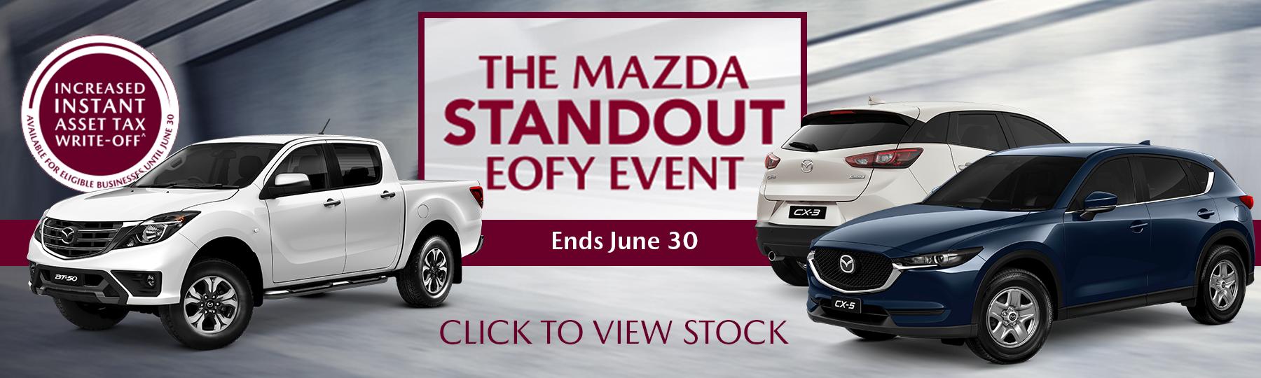Mazda EOFY Event