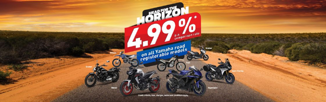 YAMAHA - 4.99 percent finance offer